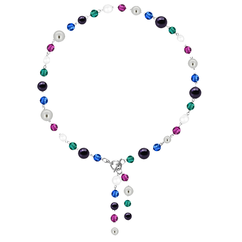 COLLECTION Cool & Bright Toggle Front Clasp necklaces