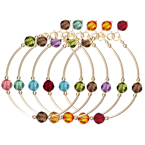 COLLECTION Warm & Deep Crystal Classic bracelets