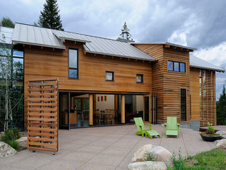 Construction complete on Private Residence in Summit County, CO
