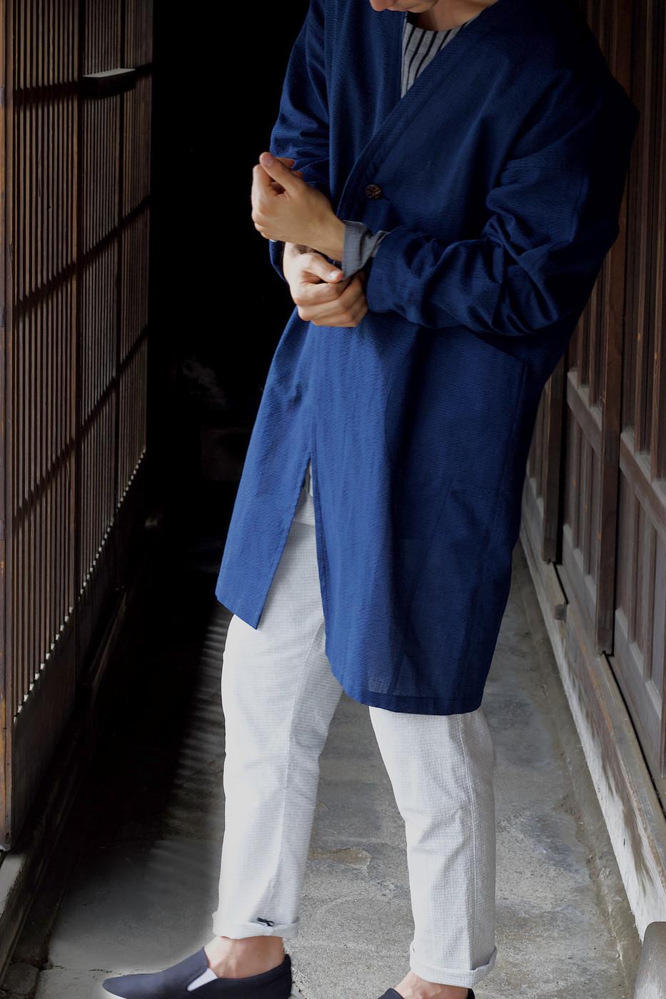 kimonofuku | キモノフク(着物リメイク)ハオリTtN-0027