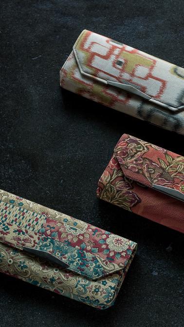 wallets 古典的 着物リメイク
