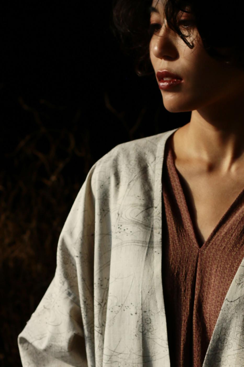 kimonofuku | キモノフク(着物リメイク)ハオリとワンピースD02