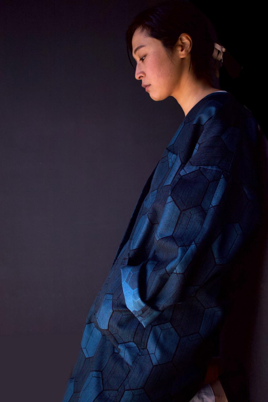 kimonofuku | キモノフク(着物リメイク)ハオリTtN-0017