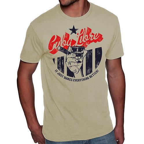 HBM44-Men's Cuba Libre Tee