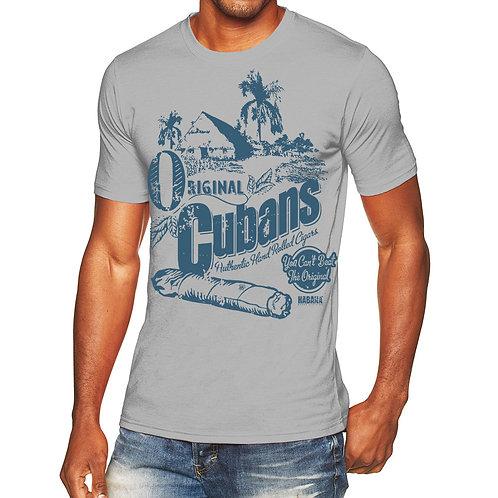 Orignal Cuban Mens Poly/Cotton Crew