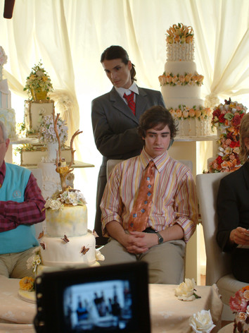 Steve & his parents meet with the wedding planner... - 1
