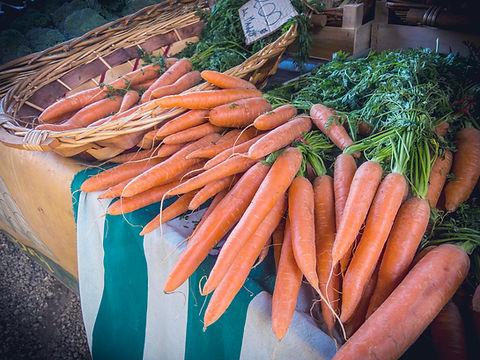 Karotten am Markt