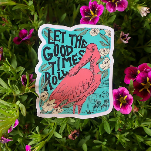 Spoonbill Sticker
