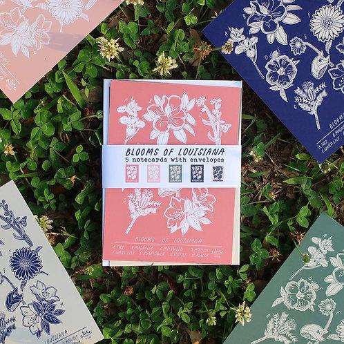 Blooms of LA Notecard Set