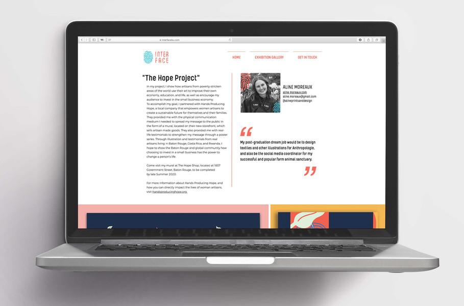 INTERFACE- WEB DESIGN