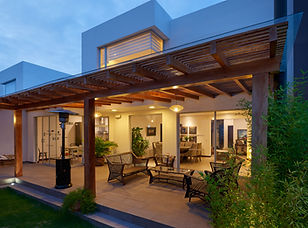 Interior design: Beautiful modern terrace lounge with pergola.jpg