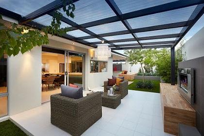 Polycarbonate Pergola roof