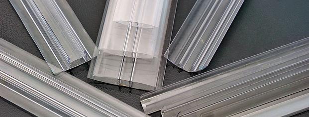 Polycarbonate h connectors