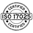 Certified ISO 17025