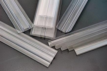 Polycarbonate plastic sheet panel image.