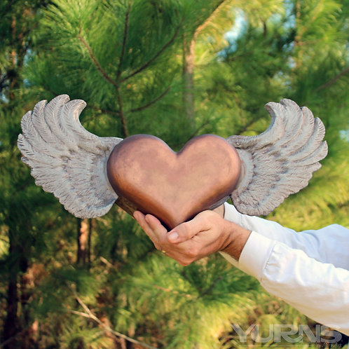 """""""Unbound Love"""" - Heart with Wings"""