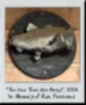 Bass Fish Cremation Urn