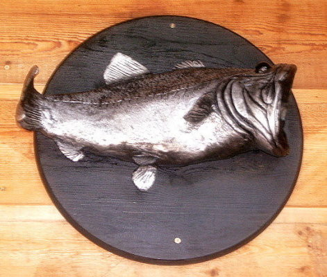 2005 Bass Fish Cremation Urn