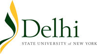 Delhi State University of New York logo