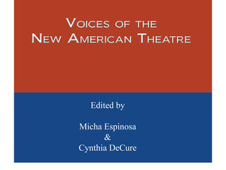 Scenes for Latinx Actors: Voices of the New American Theatre  - arriving Fall 18 from Smith and Krau