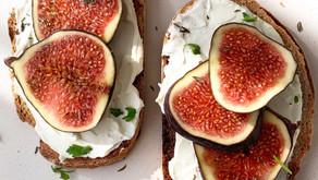 Cream Cheese & Fig Toast | Easy Breakfast