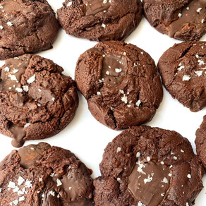 Easy Double Chocolate Chunk Cookies Recipe   Plant-based Recipe