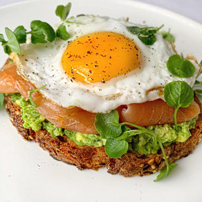 Smashed Avocado Smoked Salmon and Fried Egg Toast Recipe