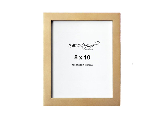 """8x10 1"""" Gallery Picture Frame - Gold"""