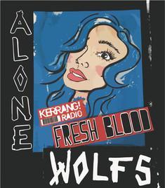 WOLFS - Alone Kerrang Fresh Blood promotion poster