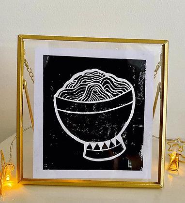 'Noodles' random prints