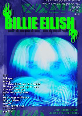 Billie Eilish - Album poster *concept