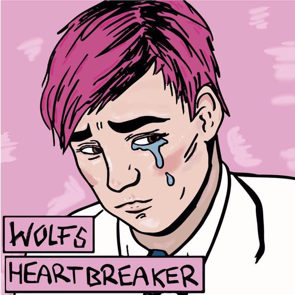 WOLFS - Heartbreaker CD cover