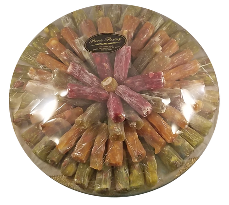 Assorted Turkish Delight Round Tray