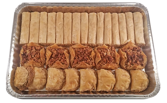 Assorted Baklava Half Tray