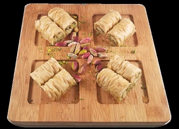 Sugar Free Burma Baklava Pistachio Half Tray