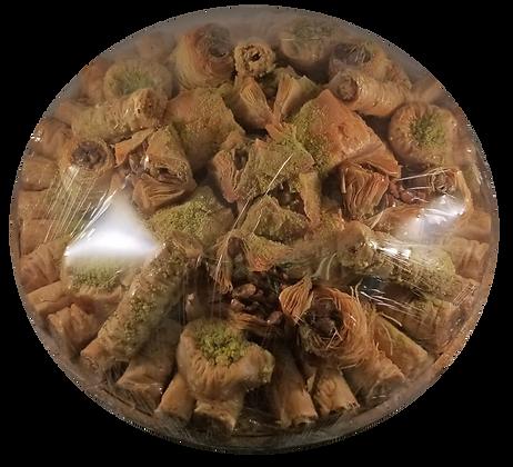 Assorted Baklava Round Tray