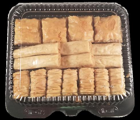 Mini Pack Assorted Baklava Walnuts and Cashews