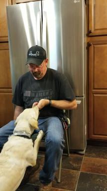 Hank continuing to master the smoke detector alarm alert