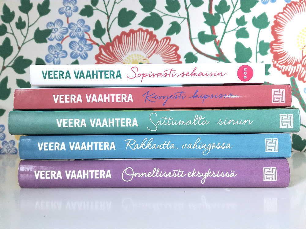 Kaikki viisi Veera Vaahtera -romaania