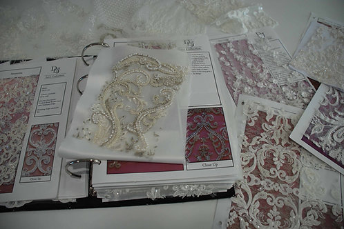 Special occasion and bridal - Lace, fabrics and trimmings