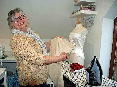 Dressmaking  Wednesday Mornings 10.00-12.30