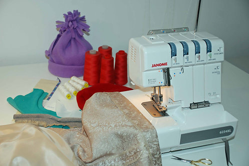Learn to love your overlocker workshop
