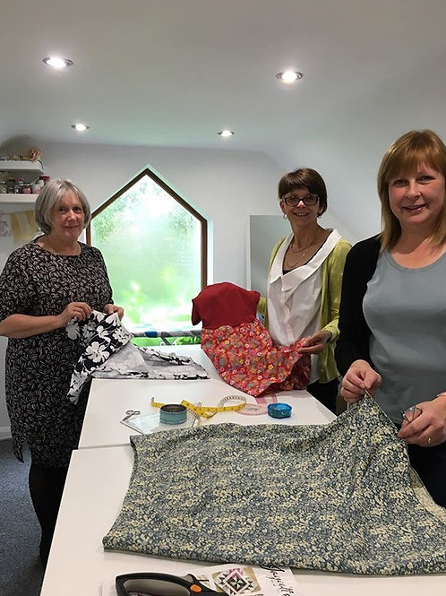 Sew Saturday workshop day
