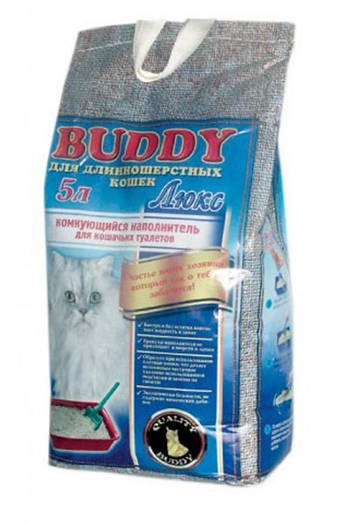Baddy (Бадди) Люкс комкующийся наполнитель для кошачьего туалета 5л