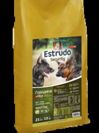 Estrudo Security (Говядина +Hba) д/взр.собак служебных пород