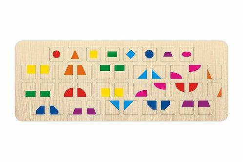 Геометрические фигуры-сменная клавиатура для нотбука