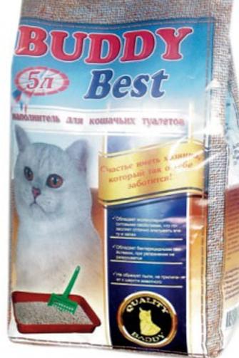 Baddy (Бадди) Best впитывающий наполнитель для кошачьего туалета
