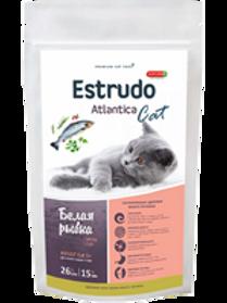 Estrudo Atlantica Cat (Белая рыбка) для кошек с чувств. пищеварением