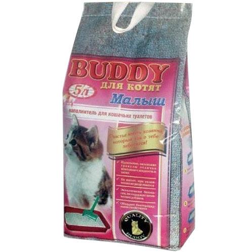 Baddy (Бадди) Малыш впитывающий наполнитель для кошачьего туалета 5л