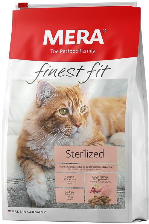 FINEST FIT STERILIZED (для взрослых стерилизованных/кастрированных кошек) 400г